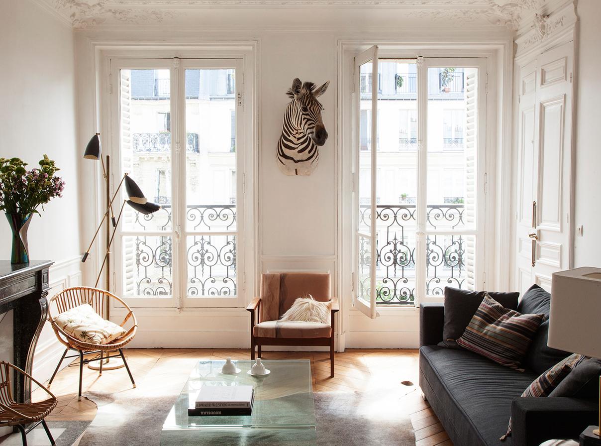 Univers int rieur for Interieur appartement parisien